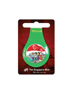 SG50 Multi-Purpose Money Clip (Green)