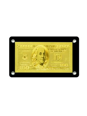 USD Currency Replica Goldfoil Note Magnet