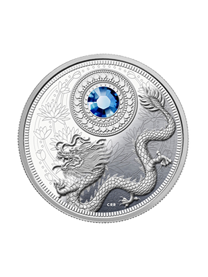2016 Birthstones Series - September 999 Fine Silver Proof Coin