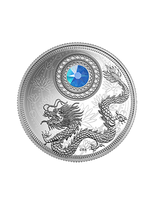 2016 Birthstones Series - March 999 Fine Silver Proof Coin
