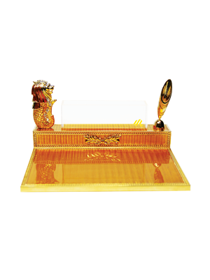 Merlion Pen & Name Card Holder