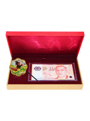 Blissful Rooster Banknote Set