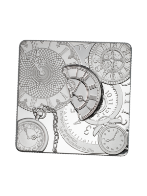 Time Capsule 1oz 999 Fine Silver Proof-Like Coin