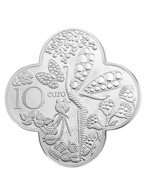 French Excellence - Van Cleef & Arpels 10€ 900 Fine Silver Proof Coin