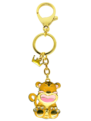Tiger Zodiac Bag Charm