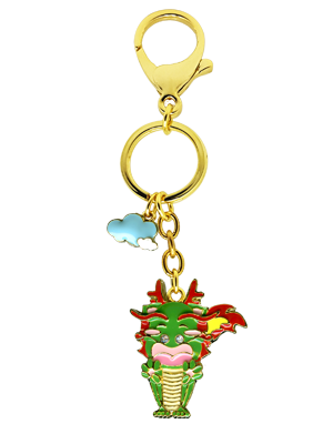 Dragon Zodiac Bag Charm