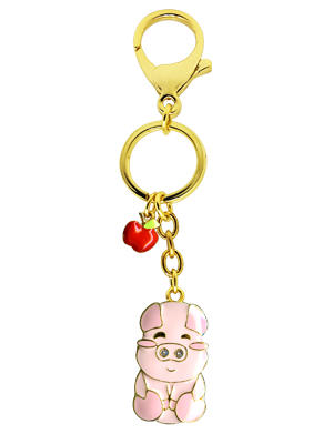 Boar Zodiac Bag Charm