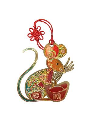 Rat Zodiac Bookmark