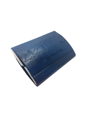 Singapore Icon Card Holder - Blue