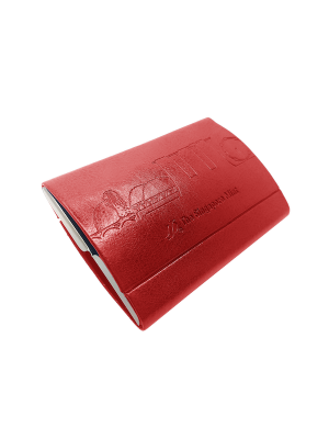 Singapore Icon Card Holder - Red