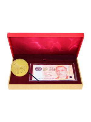 Golden Dog Banknote Set