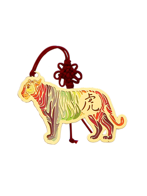 Tiger Zodiac Bookmark II