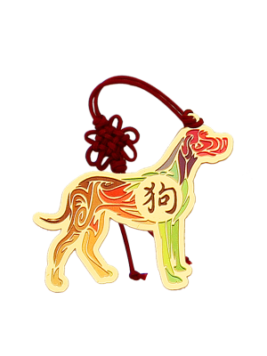 Dog Zodiac Bookmark II