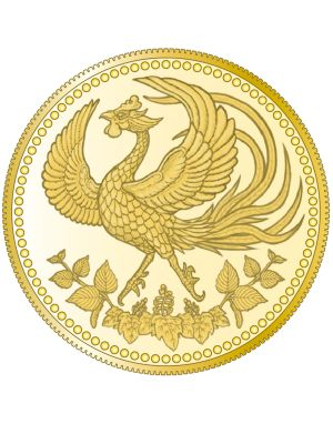 Japan 30th Anniversary of the Enthronement of His Majesty the Emperor 999.9 Gold Proof Coin