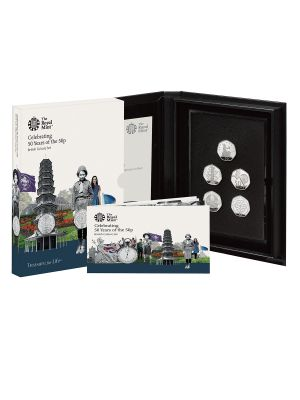 2019 UK Celebrating 50 Years of the 50 Pence British Culture Coin Set