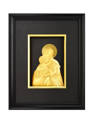 Mother Mary Gold-foil Frame