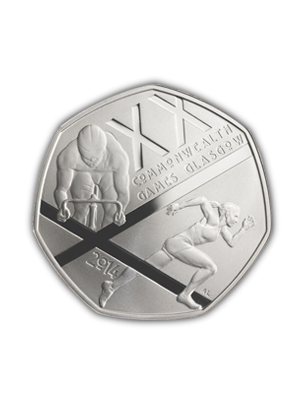 Glasgow 2014 Commonwealth Games 925 Silver Proof Coin