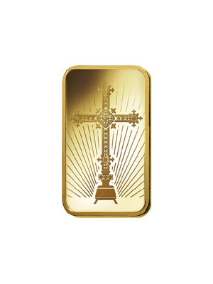 PAMP Cross 5gm 999.9 Fine Gold Ingot