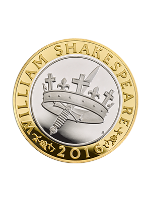 Shakespeare Histories 925 Silver Proof Coin