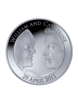 Royal Wedding UK £5 Sterling Silver Proof Coin