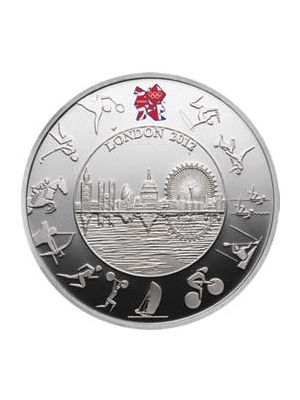 2012 London Olympic Silver Proof Coin