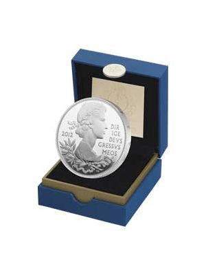 The Queen's Diamond Jubilee Sterling Silver Proof Coin