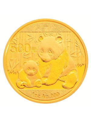 2012 China Panda 1 oz 999.9 Fine Gold Bullion Coin
