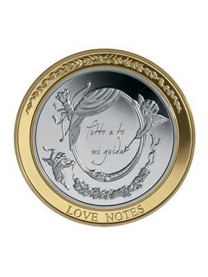 The Love Note 925 Silver Coin