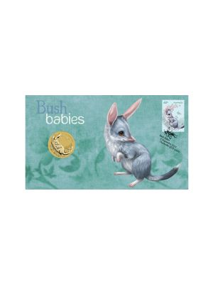 Bilby Bush Babies Stamp & Coin Cover