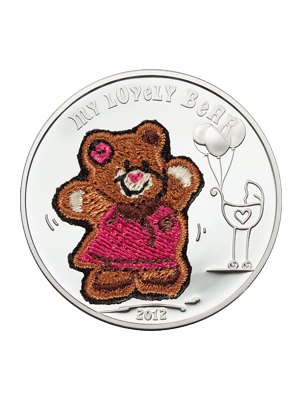 My Lovely Bear 925 Silver Coin
