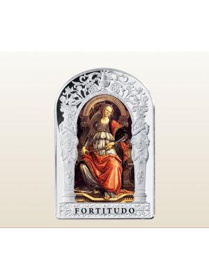The Virtues - Fortitude 1 oz 999 Fine Silver Proof Coin