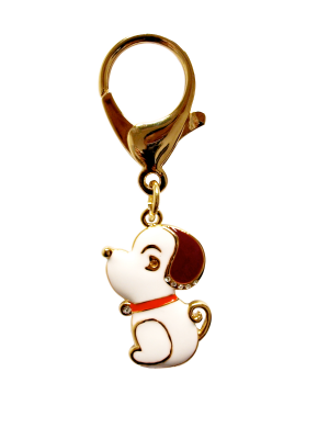 Gold Plated Dog Lunar Charm