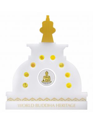 World Buddha Heritage Grandeur Gold 9-In-1 Proof Coin Set