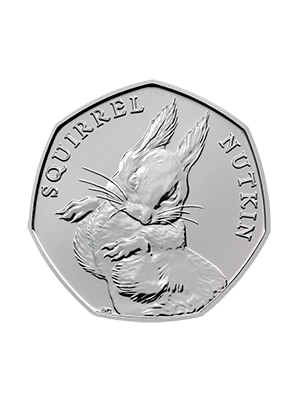 150th Anniversary of Beatrix Potter - Squirrel Nutkin Cupro-Nickel