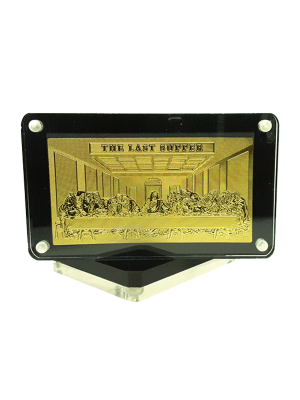 The Last Supper Goldfoil Magnet