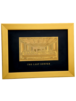 The Last Supper Goldfoil Frame