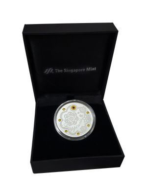 Happiness Silver-Plated Medallion (With Personalization)
