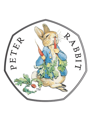 2018 Celebrating Beatrix Potter - Peter Rabbit 925 Fine Silver Proof Coin