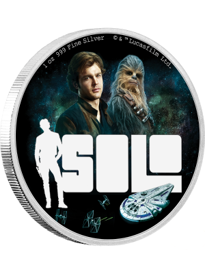 Solo: A Star Wars Story 1oz Silver Proof Coin