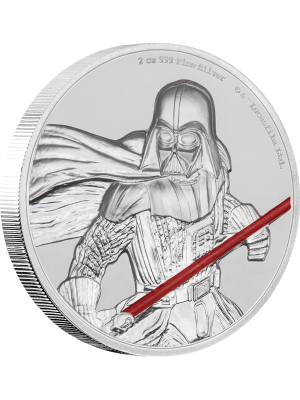 Star Wars Darth Vader™ Ultra High Relief 2oz Silver Proof Coin