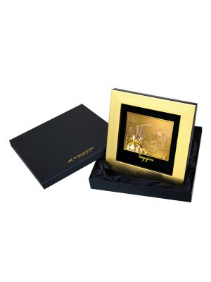 Singapore Skyline Goldfoil Medium Frame