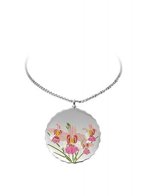 Vanda Miss Joaquim Pendant Necklace - Silver-plated