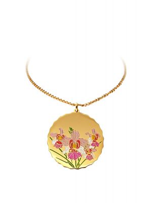Vanda Miss Joaquim Pendant Necklace - Gold-plated