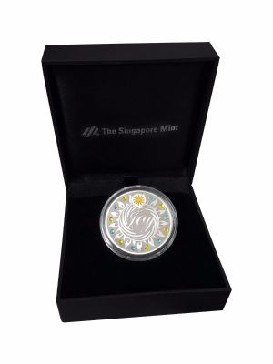 Joy Silver-Plated Medallion (With Personalization)