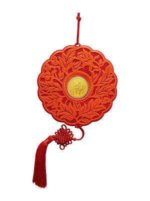 Blissful Fortune Decorative Ornament