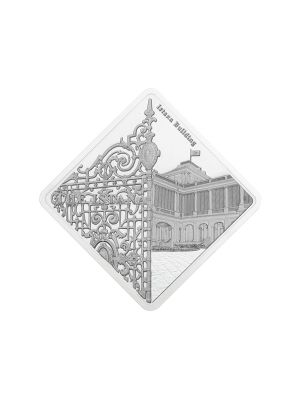 Istana Building 1oz 999 Fine Silver Proof-Like Medallion