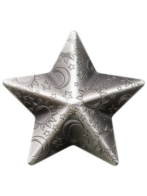 Twinkling Star 1oz 999 Fine Silver Coin