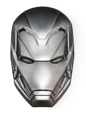 Marvel Iron Man Icon 2oz 999 Fine Silver Coin