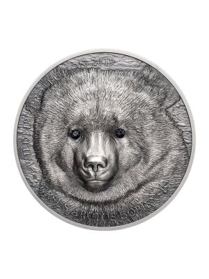 Wildlife Protection Gobi Bear 1oz 999 Fine Silver Coin