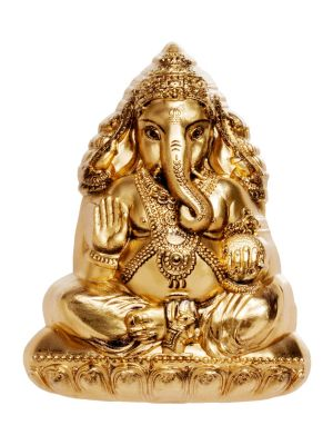Lord Ganesha 3oz 999 Fine Silver Coin with Gold-plating